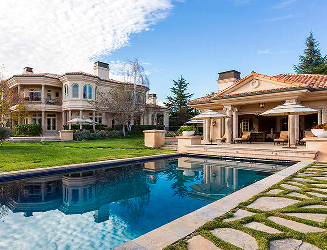 A Look Inside the Most Over-the-Top Celebrity Homes
